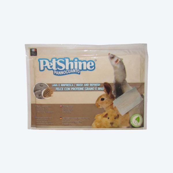 Pannoguanto felce con proteine grano e riso - Petshine
