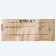 becco mix etichetta