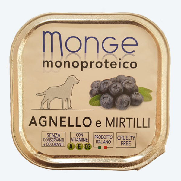 monge agnello e mirtilli