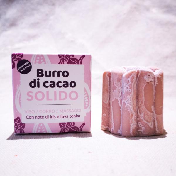 burro cacao solido